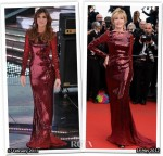 Who Wore Roberto Cavalli Better? Elisabetta Canalis or Jane Fonda