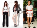 Zoe Saldana In Prabal Gurung - Prabal Gurung Resort 2013 Celebratory Party