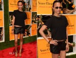 Zoe Saldana In Theyskens' Theory - 5th Annual Veuve Clicquot Polo Classic
