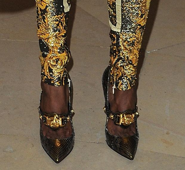 M.I.A. in Versace