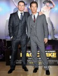 Channing Tatum In Giorgio Armani & Matthew McConaughey In Dolce & Gabbana - 'Magic Mike' London Premiere