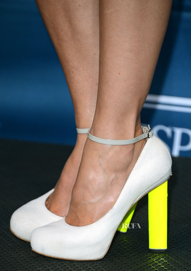 Jessica Biel's Nicholas Kirkwood heels