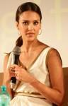 Jessica Alba In Salvatore Ferragamo