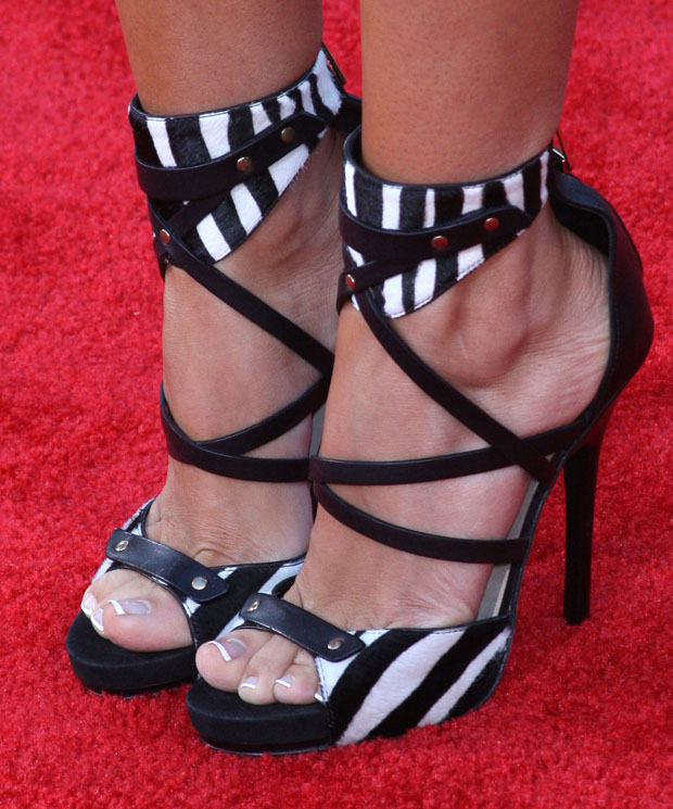 Ashley Tisdale's heels