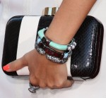 Ashley Tisdale's Lulu Guinness clutch