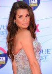Lea Michele in Atelier Versace
