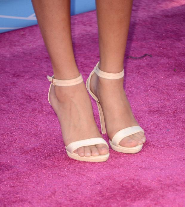 Selena Gomez' Herve Leger by Max Azria sandals