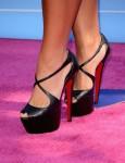 Demi Lovato's Christian Louboutin heels