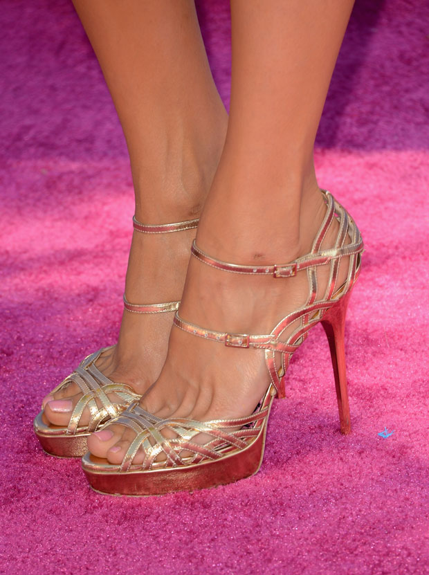 Nina Dobrev's Jimmy Choo shoes