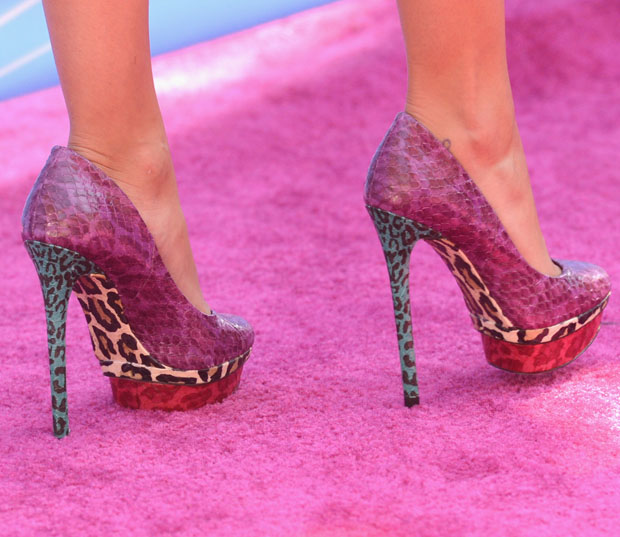 Hayden Panettiere's B Brian Atwood 'Fontanne' shoes