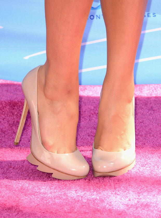 Shay Mitchell's Camilla Skovgaard shoes