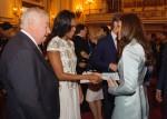 Michelle Obama in J. Mendel