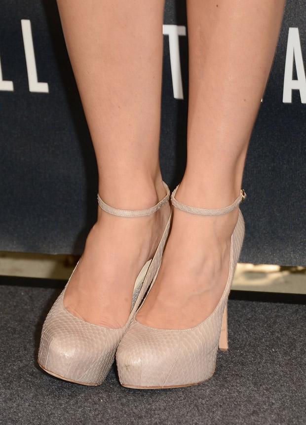 Jessica Biel's Brian Atwood pumps