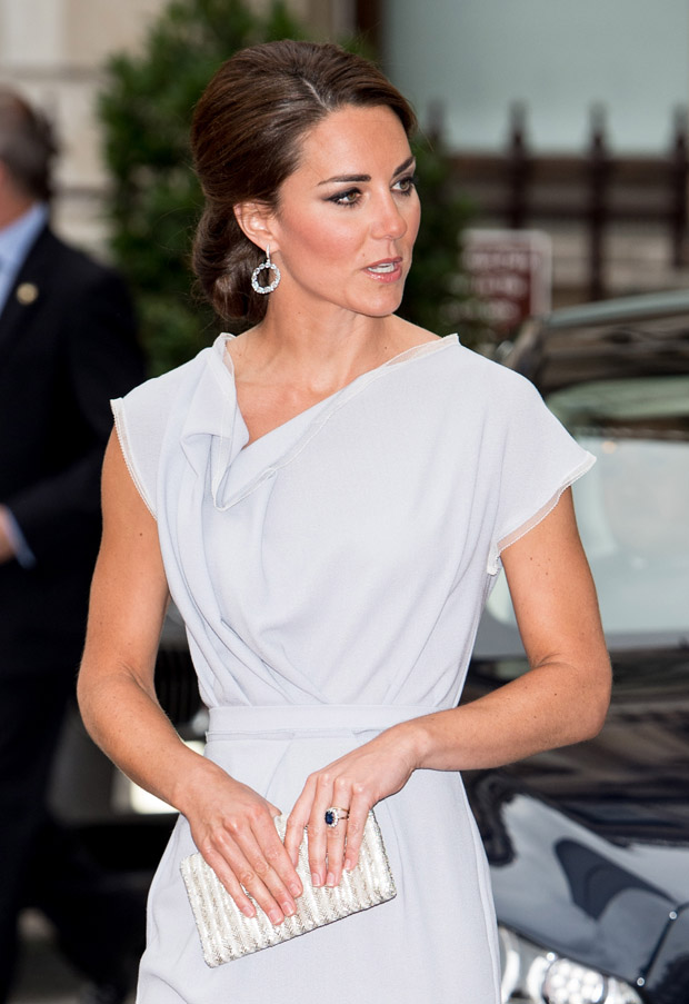 Catherine, Duchess of Cambridge in Roksanda Ilincic