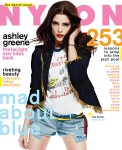 Ashley Greene For NYLON August Denim Issue