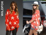 Alessandra Ambrosio's Wildfox Couture Seeing Stars Lennon Sweater