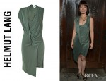 Allison Mack's Helmut Lang Shale Jersey Dress