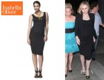 Anna Paquin's Isabella Oliver Ruched Tank Dress
