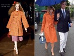 Anna Wintour In Marc Jacobs - Wimbledon Men's Final 2012