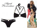 AnnaLynne McCord's Agent Provocateur Kristie Braided Bikini Top And Kristie Braided Bikini Briefs