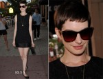 Anne Hathaway In Dolce & Gabbana - 'Shut Up And Play The Hits' New York Premiere