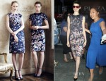 Anne Hathaway In Erdem - 'Today' Show