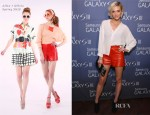 Ashlee Simpson In Alice + Olivia - Samsung Galaxy S III Event