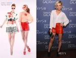 Ashlee Simpson In Alice + Olivia - Samsung Galaxy S III Event