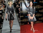 Ashley Greene In Oscar de la Renta - 'The Twilight Saga: Breaking Dawn - Part 2' VIP Comic-Con Celebration