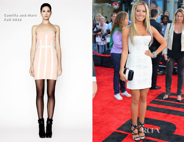 Ashley Tisdale In Camilla and Marc - 'Step Up Revolution' LA Premiere