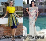 Best Dressed Of The Week - Bianca Balti In Fendi & Dita von Teese In Jenny Packham