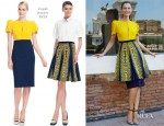 Bianca Balti In Fendi - 'Bianca Balti: Scenes From A Fashion Fairy Tale' Exhibition