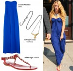 Steal Her Style: Blake Lively's Electric Hue