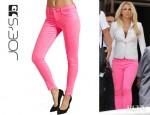 Britney Spears' Joe's High Rise Skinny Ankle Jeans