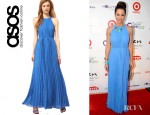Brooke Burke's Ted Baker Pleat Maxi Dress