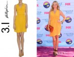 Candice Accola's 3.1 Phillip Lim Wrap Dress