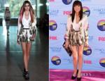 Carly Rae Jepsen In Lisa Ho - 2012 Teen Choice Awards