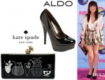 Carly Rae Jepsen's Kate Spade New York Tika Clutch And Aldo Lindall Pumps