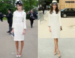 Caroline Sieber Wears The Same Chanel Dress To Royal Ascot & Chanel's Fall 2012 Couture Show