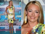 Cat Deeley In Matthew Williamson - FOX All-Star Party