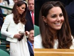 Catherine, Duchess of Cambridge In Joseph – Wimbledon Men's Final 2012