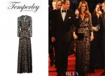Catherine, Duchess of Cambridge's Temperley London Amoret Lace Gown