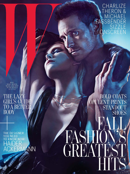 Charlize Theron for W Magazine August cover