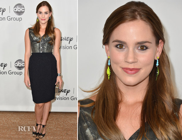 Christa B Allen In Jean Paul Gaultier - 2012 'TCA Summer Press Tour'