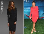 Christina Milian's Thatcher Minimalist Body Con Dress