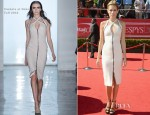 Cody Horn In Cushnie et Ochs - 2012 ESPY Awards