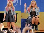 Demi Lovato In Topshop - Good Morning America