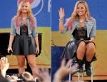 Demi Lovato In Topshop - Good Morning America