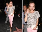 Diane Kruger In Current/Elliott - Out In LA