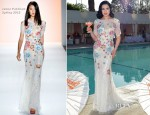 Dita von Teese In Jenny Packham - Dita Von Teese and Cointreau Launch Cointreau Poolside Soirees Event
